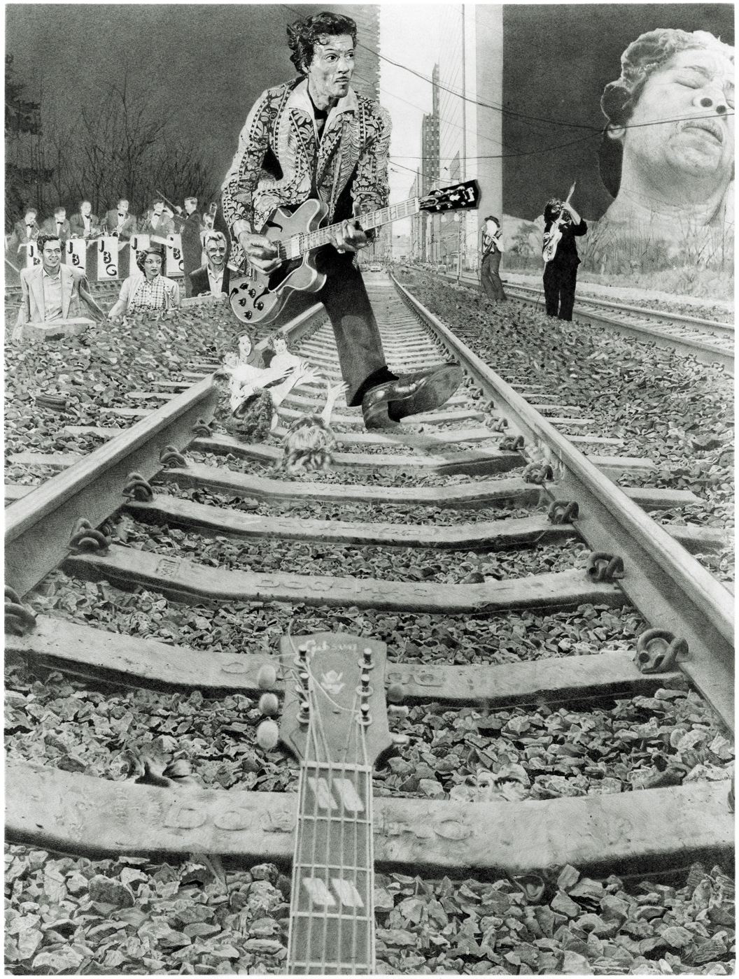 Chuck Berry in Derbyshire