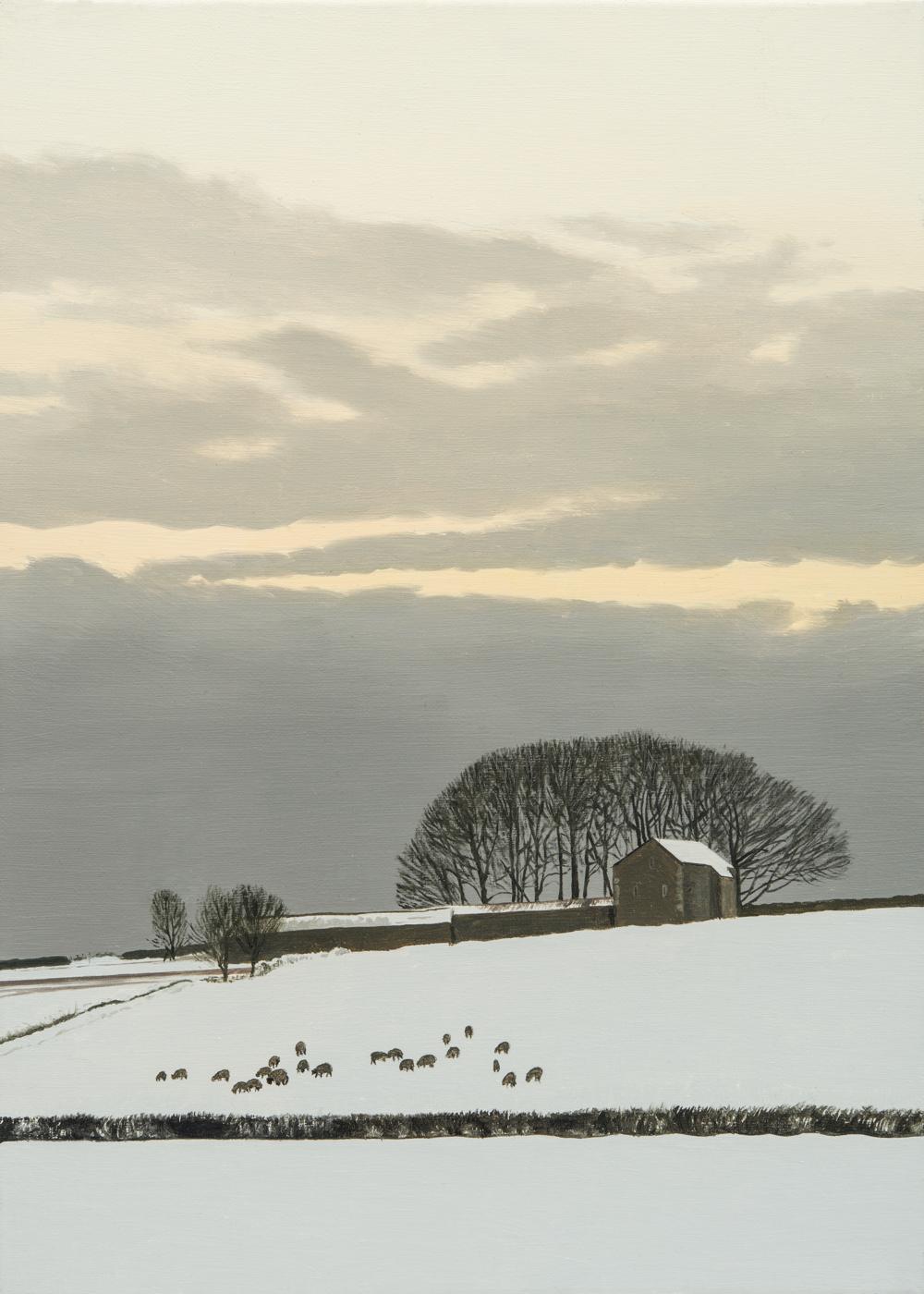 Littleton Wood Barns - Winter