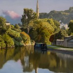 Widcombe Evening by Nick Cudworth