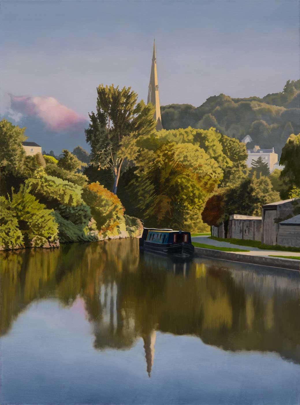 Widcombe Evening by Nick Cudworth