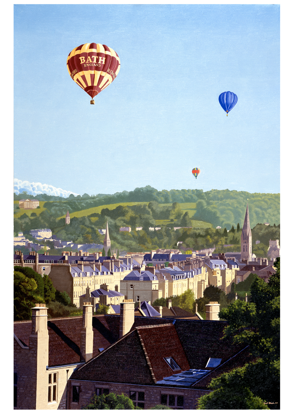Balloons Over Bath