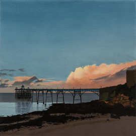 Clevedon Pier (Sunset)